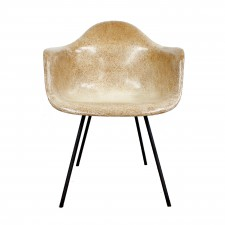 eames shell arm chair x base cut out square