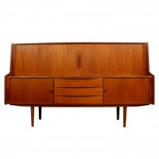 kofod larsen sideboard cut out white square